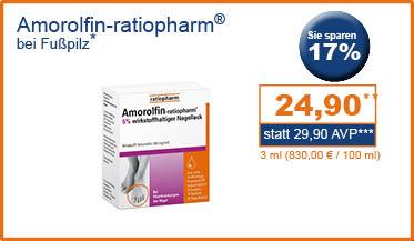 Amorolfin ratiopharm