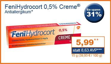 Fenihydrocort 0,5% Creme