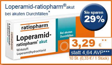 Loperamid ratiopharm