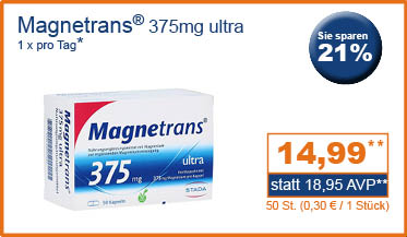 Magnetrans 375mg ultra