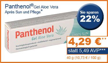 Panthenol Gel Aloe Vera