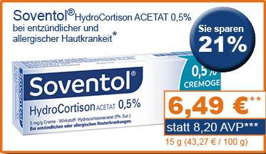 Soventol HydroCort Acetat 0,5 %